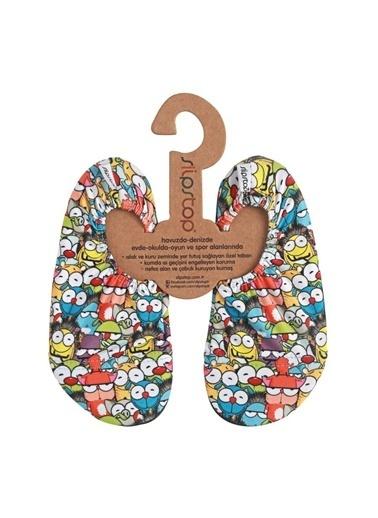 Slipstop Slipstop Bubble Eye Ev Ayakkabısı Renkli